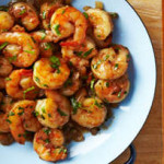 Sizzlin' Shrimp with BC Raspberry Salsa