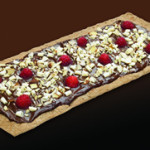 Raspberry-Chocolate Thin Crust Pizza