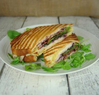 Raspberry-Chipotle Turkey Melt