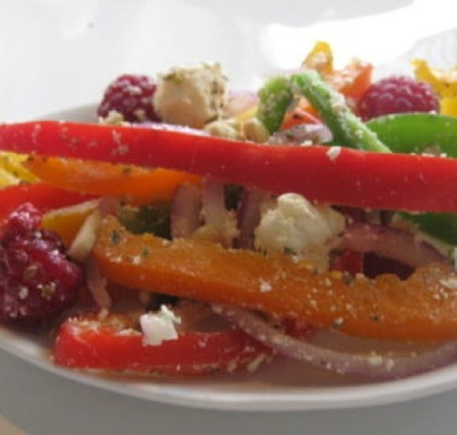 pepper raspberry salad